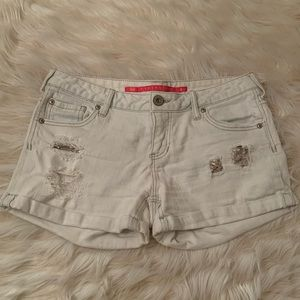 Tinseltown sequin dipped jean shorts size 9